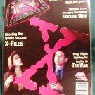 X-FILES ! TV ZONE #71 BRITISH MAGAZINE - OCTOBER, 1995