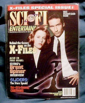 X-FILES ! SCI-FI CHANNEL ENTERTAINMENT - APRIL 1997
