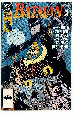 BATMAN ! #458 DC COMICS ! 1991 NM CONDITION