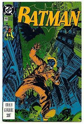 BATMAN ! #485 DC COMICS ! 1992 VF/NM CONDITION