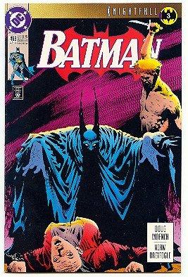 BATMAN ! #493 DC COMICS ! KNIGHTFALL 3 - 1993 VF/NM CONDITION