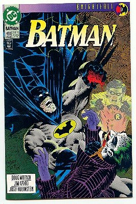 BATMAN ! #496 DC COMICS ! KNIGHTFALL 9 - 1993 NM CONDITION
