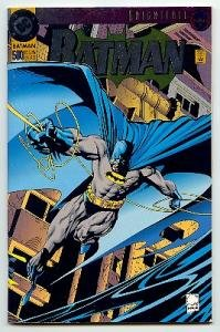BATMAN ! #500 DC COMICS ! KNIGHTFALL 19 EMBOSSED COVER-NM CONDITION