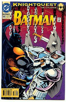BATMAN ! #502 DC COMICS ! KNIGHTQUEST NM CONDITION