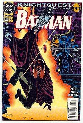 BATMAN ! #508 DC COMICS ! KNIGHTQUEST NM CONDITION