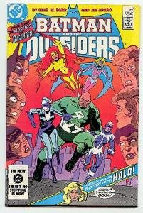 BATMAN AND THE OUTSIDERS! DC COMICS #9 VF/NM CONDITION