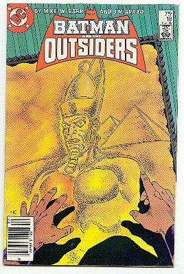 BATMAN AND THE OUTSIDERS! DC COMICS #18 VF/NM CONDITION