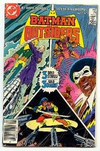 BATMAN AND THE OUTSIDERS! DC COMICS #21 GD CONDITION