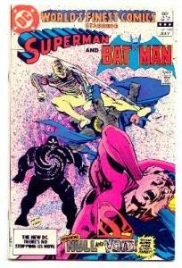 WORLD'S FINEST COMICS #293 SUPERMAN AND BATMAN !VF/NM CONDITION