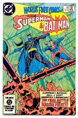 WORLD'S FINEST COMICS #307 SUPERMAN AND BATMAN ! FN CONDITION