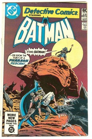 BATMAN ! DETECTIVE COMICS #508 NOV 1981 FN/VF