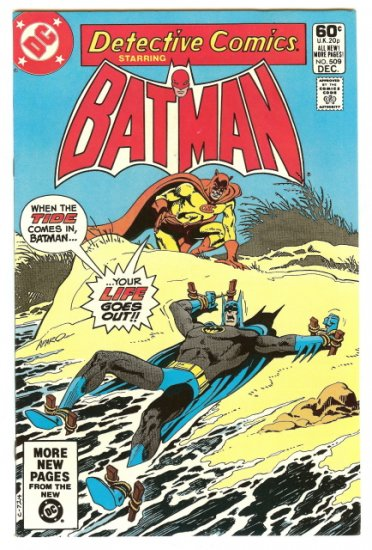 BATMAN ! DETECTIVE COMICS #509 DEC 1981 NM CONDITION!