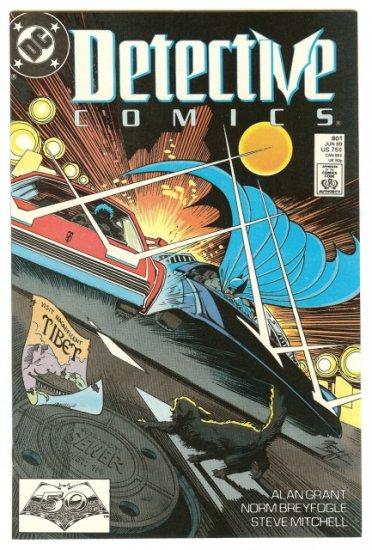 BATMAN ! DETECTIVE COMICS #601 JUN 1989 NM CONDITION!