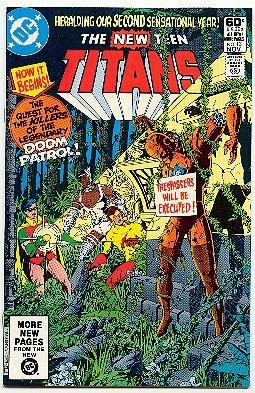 NEW TEEN TITANS #13 DC COMICS  NM CONDITION