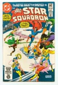 DC COMICS - ALL STAR SQUADRON #4 - vs JUSTICE SOCIETY VF/NM CONDITION