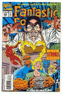 FANTASTIC 4 ! MARVEL COMICS #393 NM CONDITION