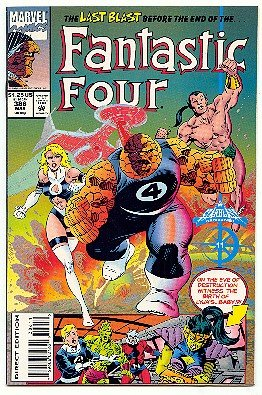 FANTASTIC 4 ! MARVEL COMICS #386 NM CONDITION