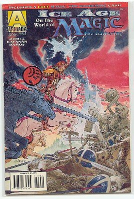 MAGIC THE GATHERING COMIC - ICE AGE #2 VF CONDITION