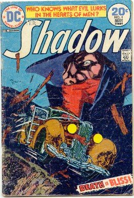 THE SHADOW ! #4 DC COMICS 1974 GD/VG CONDITION