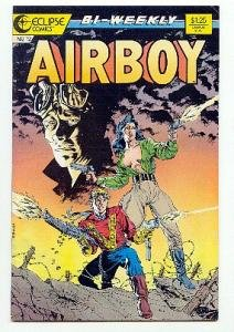 AIRBOY ! ECLIPSE COMICS #12 VF/NM CONDITION