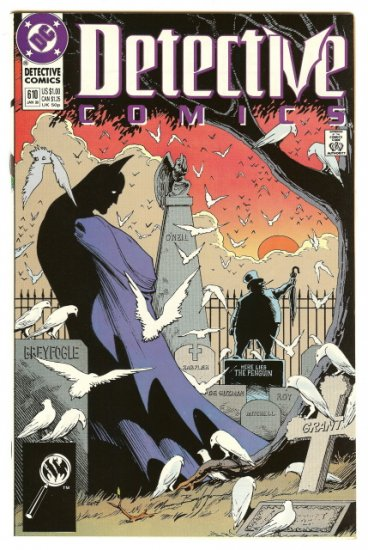 BATMAN ! DETECTIVE COMICS #610 JAN 1990 NM CONDITION!