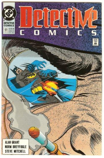 BATMAN ! DETECTIVE COMICS #611 FEB 1990 VF/NM CONDITION!
