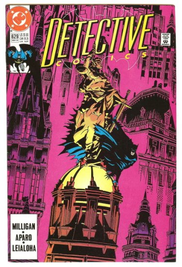 BATMAN ! DETECTIVE COMICS #629 MAY 1991 VF/NM CONDITION!