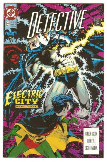 BATMAN ! DETECTIVE COMICS #644 MAY 1992 NM CONDITION!