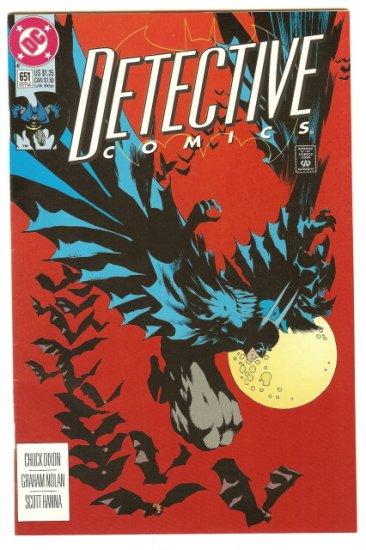 BATMAN ! DETECTIVE COMICS #651 OCT 1992 NM CONDITION!