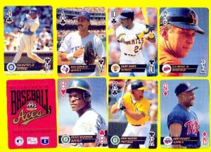 BASEBALL ACES PLAYING CARDS - 1993
