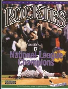 SCORECARD MAGAZINE OF COLORADO ROCKIES ! APRIL 2008 NM