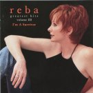 Reba McEntire ‎– Greatest Hits Volume III - I'm A Survivor