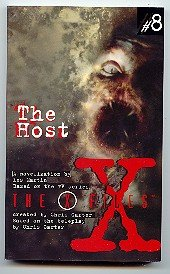 """X-FILES """"THE HOST"""" YOUNG ADULT PAPERBACK BOOK #8 NM"""