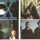 X-FILES SET OF 12 POSTCARDS!
