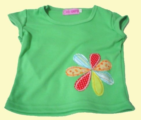 Girly Baby Top