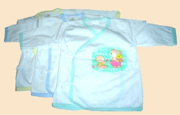 Honey bear wrap around long sleeves