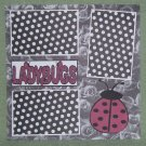 """Ladybugs""-Premade Scrapbook Page 12x12"