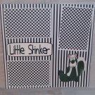 """Little Stinker tm sitting""-Premade Scrapbook Page 12x12"