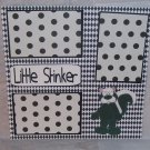 """Little Stinker tm standing 2""-Premade Scrapbook Page 12x12"