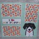 """I Love My Puppy""-Premade Scrapbook Page 12x12"