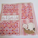 """It's A Cat's Life""-Premade Scrapbook Page 12x12"