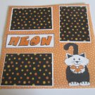 """""""Meow""""-Premade Scrapbook Page 12x12"""