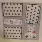 """Silly Dog 1""-Premade Scrapbook Page 12x12"