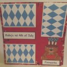 """""""Baby's 1st 4th of July Boy""""-Premade Scrapbook Page 12x12"""