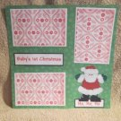 """Baby's 1st Christmas""-Premade Scrapbook Page 12x12"