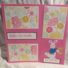 """Baby's 1st Easter Girl""-Premade Scrapbook Page 12x12"