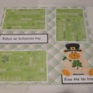 """""""Baby's 1st St Patrick's Day""""-Premade Scrapbook Page 12x12"""