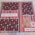 """Baby's 1st Valentine's Day Girl""-Premade Scrapbook Page 12x12"