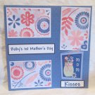 """Baby's 1st Mother's Day""-Premade Scrapbook Page 12x12"