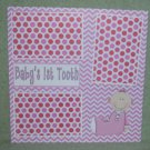 """Baby's 1st Tooth Girl""-Premade Scrapbook Page 12x12"